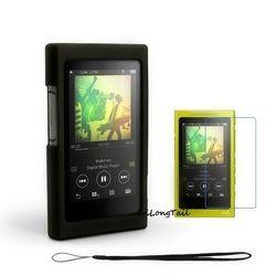 Case Film Strap for Sony Walkman NW A35 A36 A35HN A36HN A37HN Silicone Cover NWZ A35 A36 A37 Screen Protector MP3 16gb 32gb 64gb