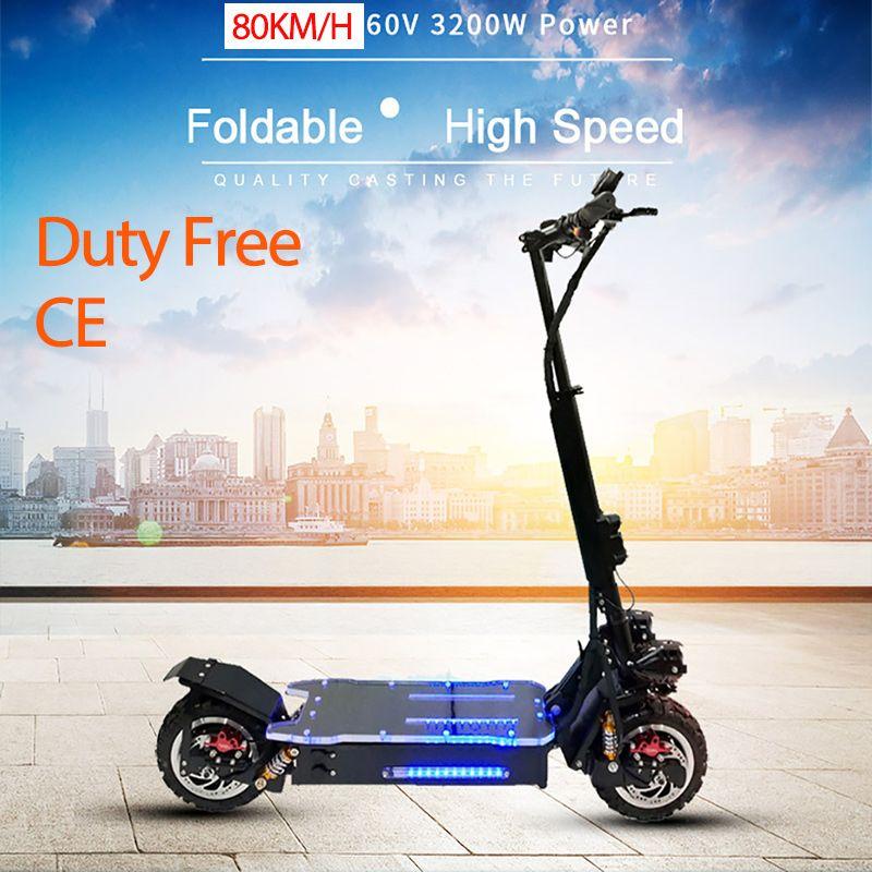 3200 W Leistungsstarke Elektrische Roller Off-Road-Skateboard Longboard Erwachsene Elektrische Roller Elektrische Faltbare Professionelle Roller