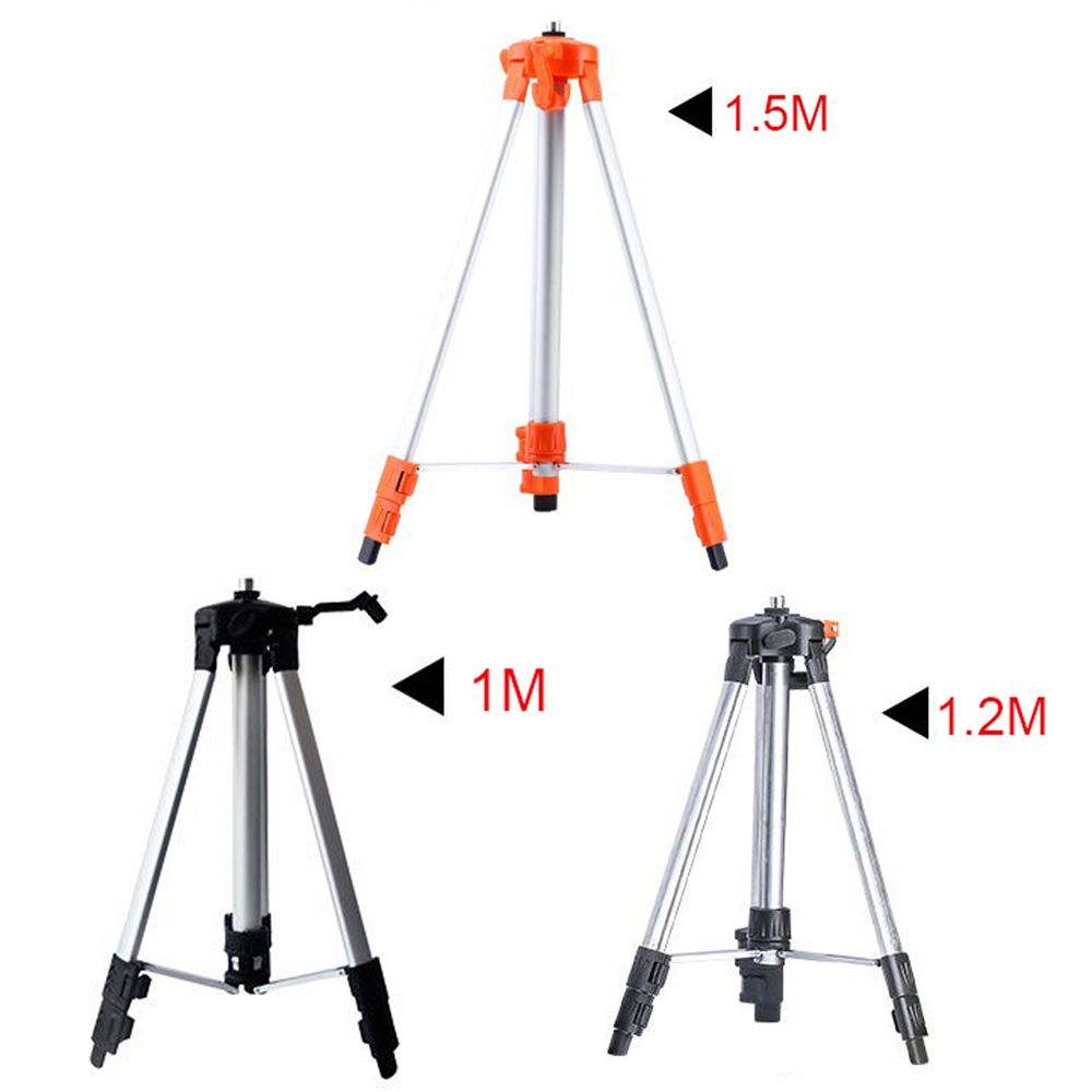 ELECALL Tripod for Laser Level 1m-1.5m Infrared laser levels Tripod 5/8'' Screw