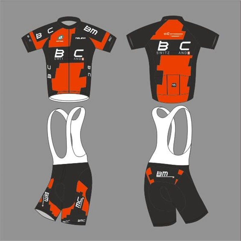 New BMC Short Sleeves Cycling Jersey Bib Short 9D Sets MTB Bike Clothing Ropa Ciclismo Bicycle Clothes Maillot Culotte Wears