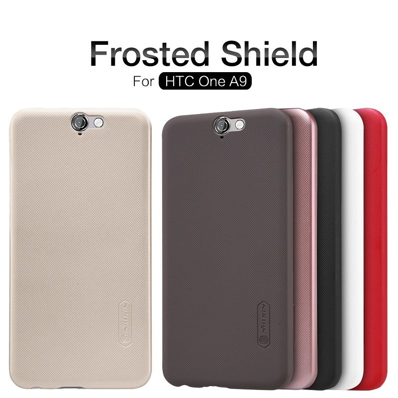 Nillkin for HTC ONE A9 case Frosted Shield case for HTC ONE A9 phone cases for HTC A9 protective cover + free protective film
