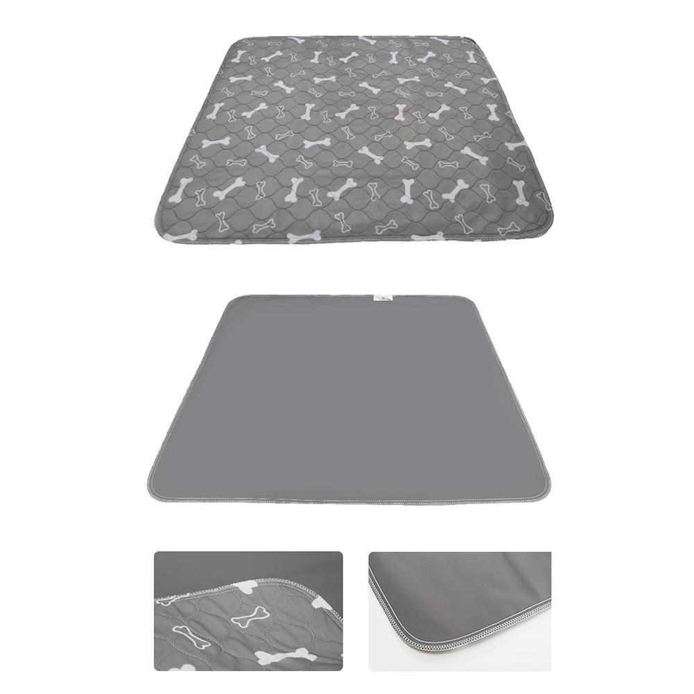 Pet Dog Pee Pad Three-layer Waterproof PVC Cute Pattern Water Absorption Cat Urine Pad Reusable Washable Pee Mattress Cushion