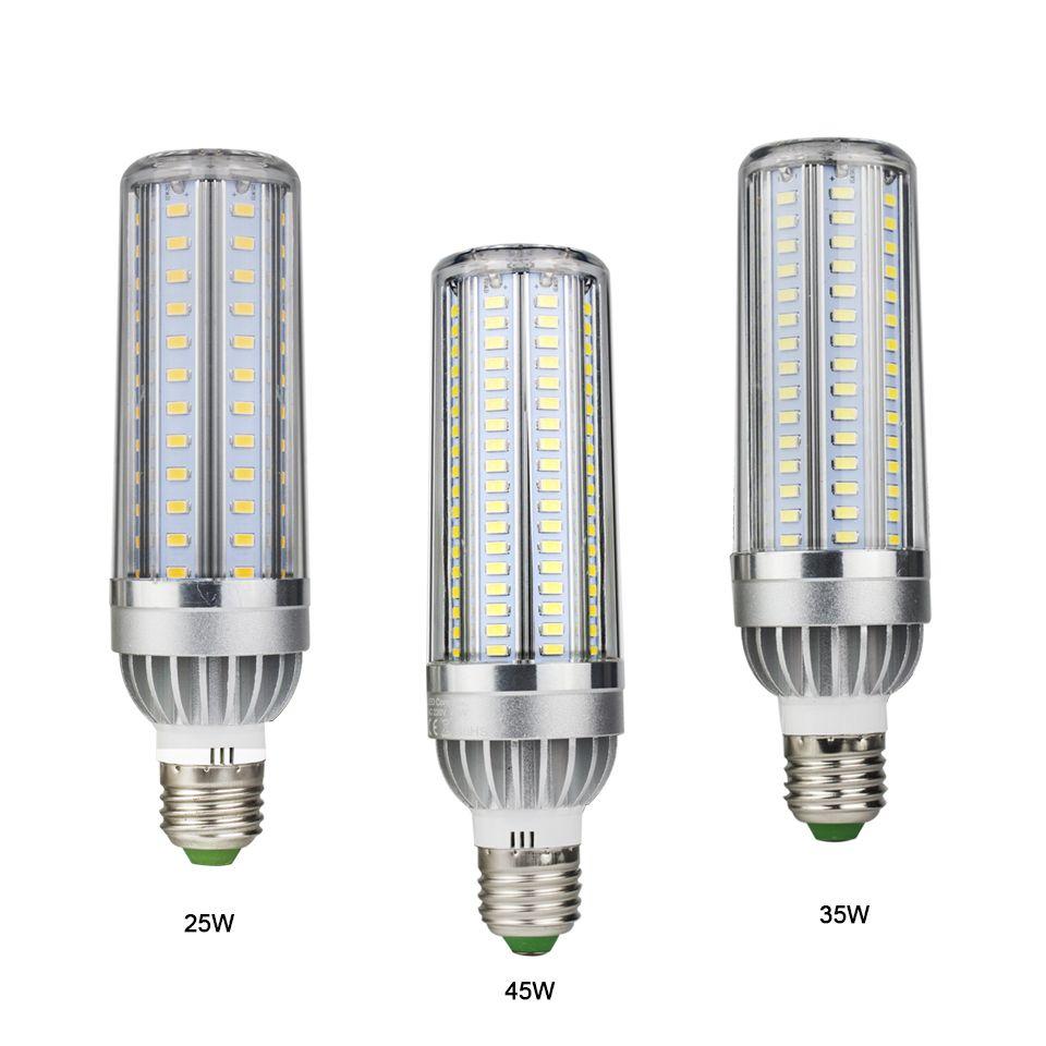 E27 25 W 35 W 45 W AC85-265V bombillas led 18 cm En Aluminium De Refroidissement Plus Rapide LED ampoule led maison Plus Durée de vie