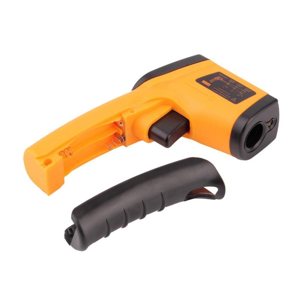 Numérique Thermomètre Sans Contact IR Laser Affichage Numérique Infrarouge Thermomètre Température Compteur Gun Point-50 ~ 380 Dropshipping