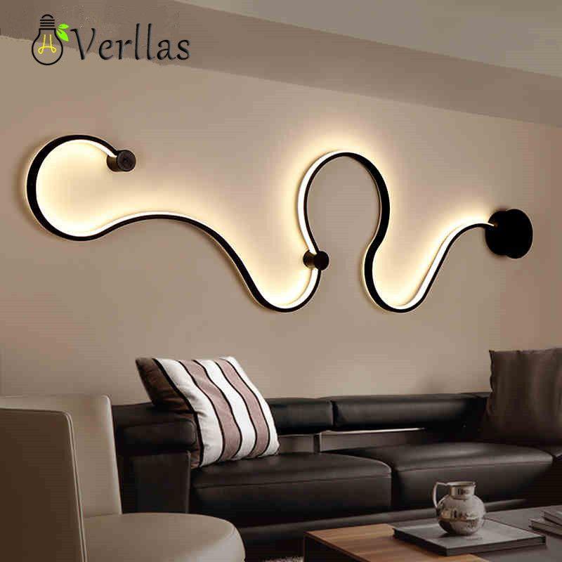 Moderne LED-wand licht Skandinavischen Wandlampen führte schlafzimmer nacht dekoration Nordic designer wohnzimmer korridor hotel wand lampen