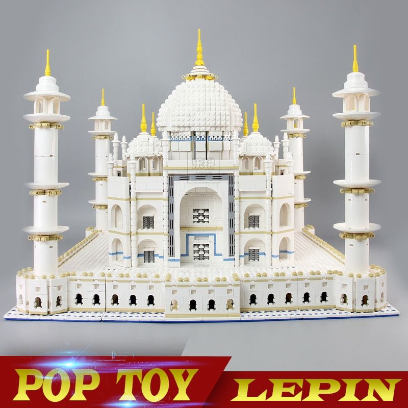 New LEPIN 17001 17008 6633Pcs The Tai Mahal Model Building Kits Brick Blocks Toys 10189 Children Educational Funny Gifts Model