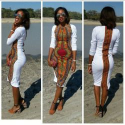 African Women Clothing Newest White Dashiki Fashion Dress Succunct African Tranditional Print V Neck Dashiki Dress For Women