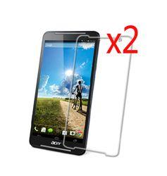 2X Jelas Film + 2x Kain paket Ritel Pelindung Layar LCD Film Pelindung Penjaga untuk Acer Iconia Berbicara S A1-724 A1 724 7
