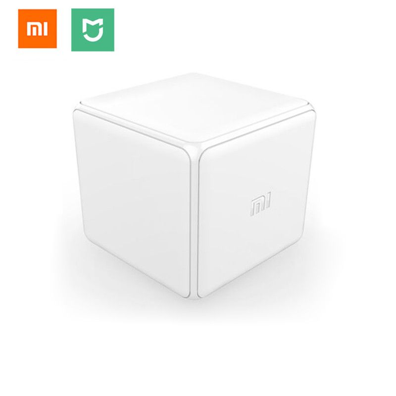 Xiaomi Mi Magic <font><b>Cube</b></font> Controller Zigbee Version Controlled by Six Actions For Smart Home Device work with mijia mi home app