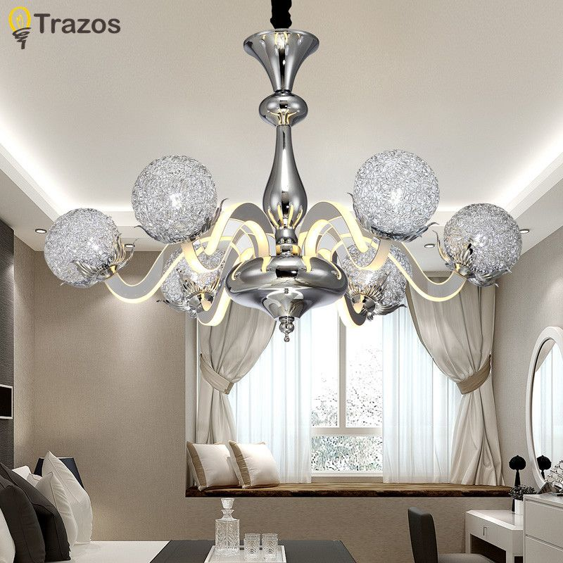 Chandelier Novelty Lights Lighting Quality Modern Chandeliers ceiling Bedroom Living room Villa Bar innovate Ceiling Fixtures