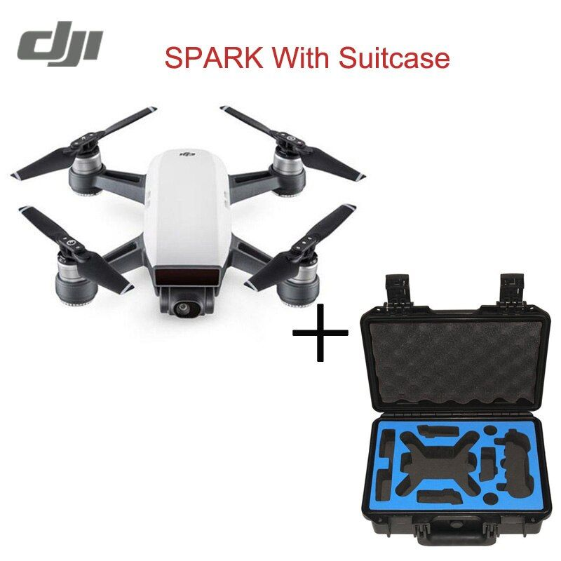 In Stock Original DJI Spark Drone 2KM FPV Quadcopter RC Drone With 12MP 2-Axis Mechanical Gimbal Camera QuickShot Gesture Mode