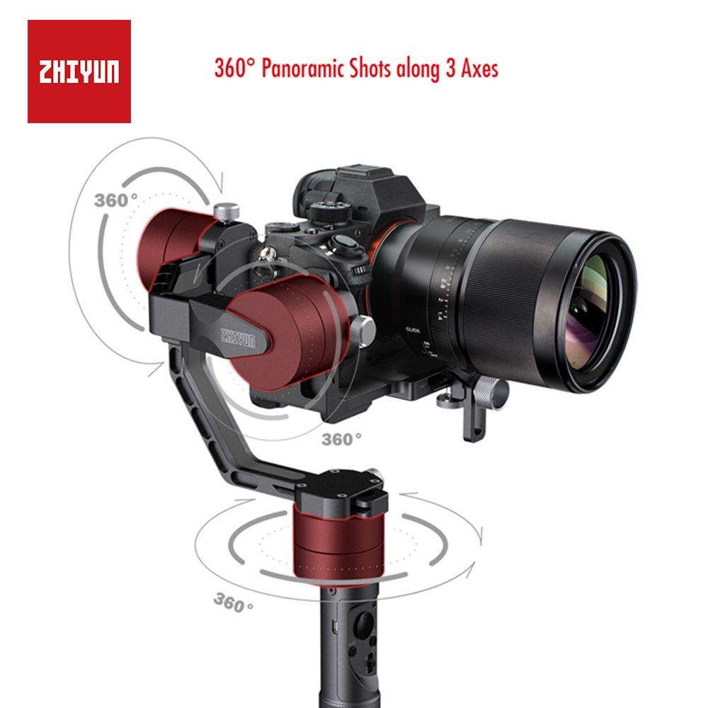 ZHIYUN Kran V2, 3-achsen Gimbal Stabilisator für Spiegellose Kamera und DSLR für Sony A7 Panasonic LUMIX Nikon J Canon PK Hohemn