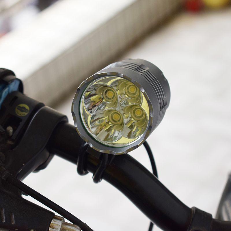 2018 New farol bike front lights 4* XM-L T6 5200 lm luces bicicleta 4*T6 LED Bike Light Bicycle Lamp Cycling Headlamp Headlight