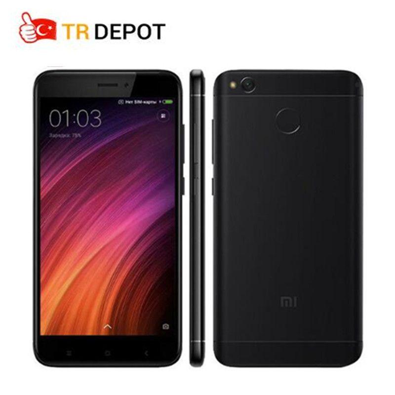 Original Xiaomi Redmi 4X Smartphone 2GB 16GB 4100mAh Snapdragon 435 Octa Core Fingerprint ID FDD LTE 5