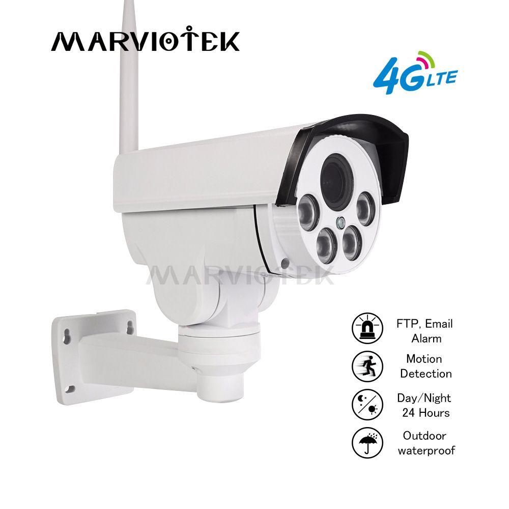 PTZ IP Kamera Outdoor PTZ 1080 P Kugel Kamera Drahtlose 4X Zoom Pan Tilt Video Überwachung Mini Kamera HD 960 P 3G 4G SIM Karte IR