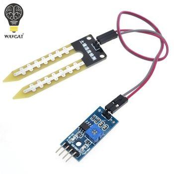Intelligent Électronique D'humidité Du Sol Hygromètre Capteur D'humidité Module de Détection Pour arduino Développement Conseil DIY Robot Intelligent De Voiture