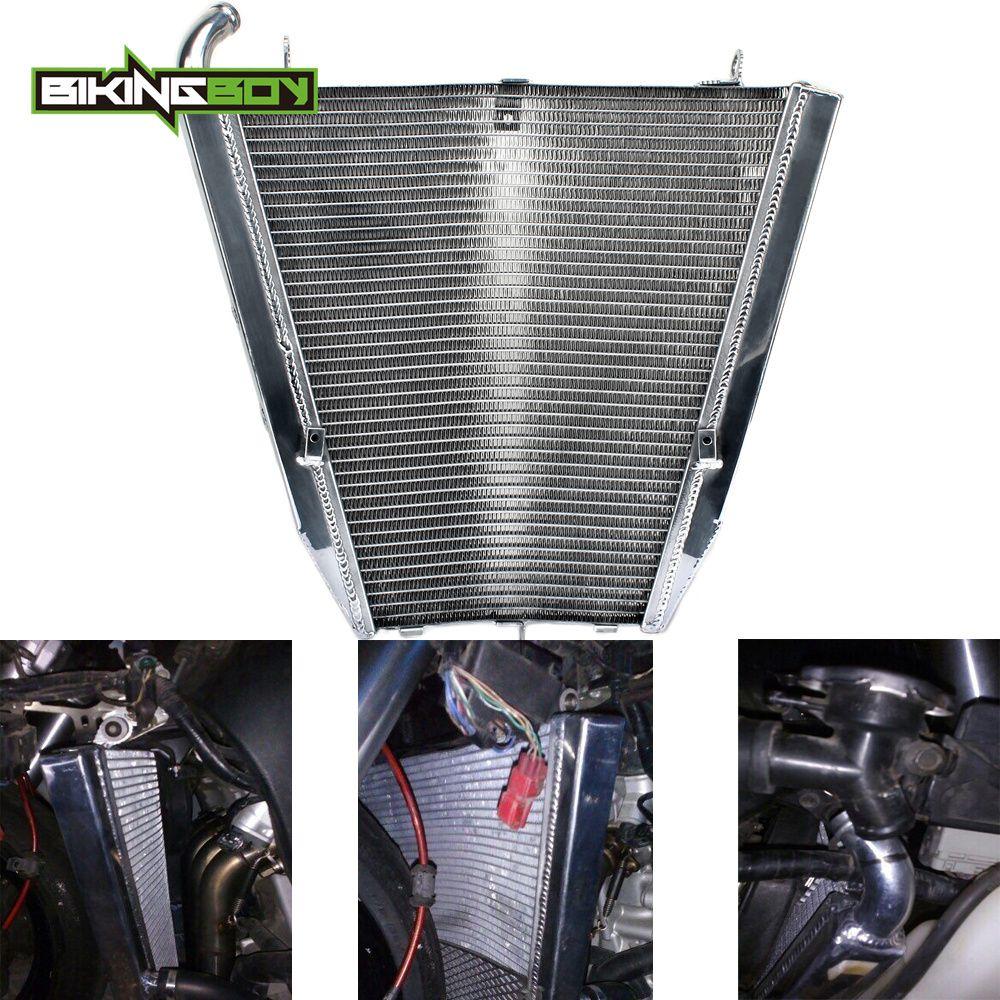 BIKINGBOY Motor Kühler für HONDA CBR1000RR CBR 1000 RR Fireblade 2004 2005 04 05 Aluminium Core RR4 RR5 Wasser kühler