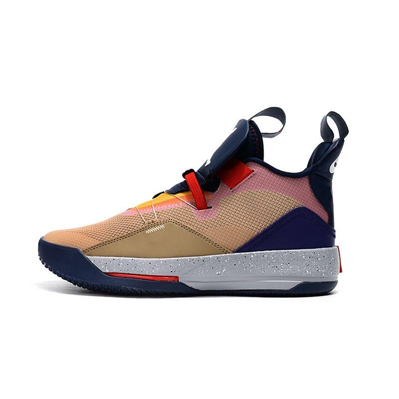 Jordan Retro 33 XXXIII Multi-farbe Basketball Schuhe Männer Outdoor training Sneaker Schwarz Heißer Verkauf