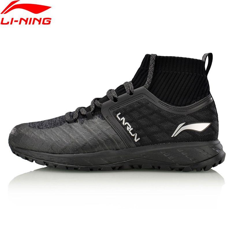 Li-Ning Men Shoes LN CLOUD SHIELD 2017 Running Shoes Mono Yarn WATER SHELL Cushion Sneakers Li Ning Sports Shoes ARHM083
