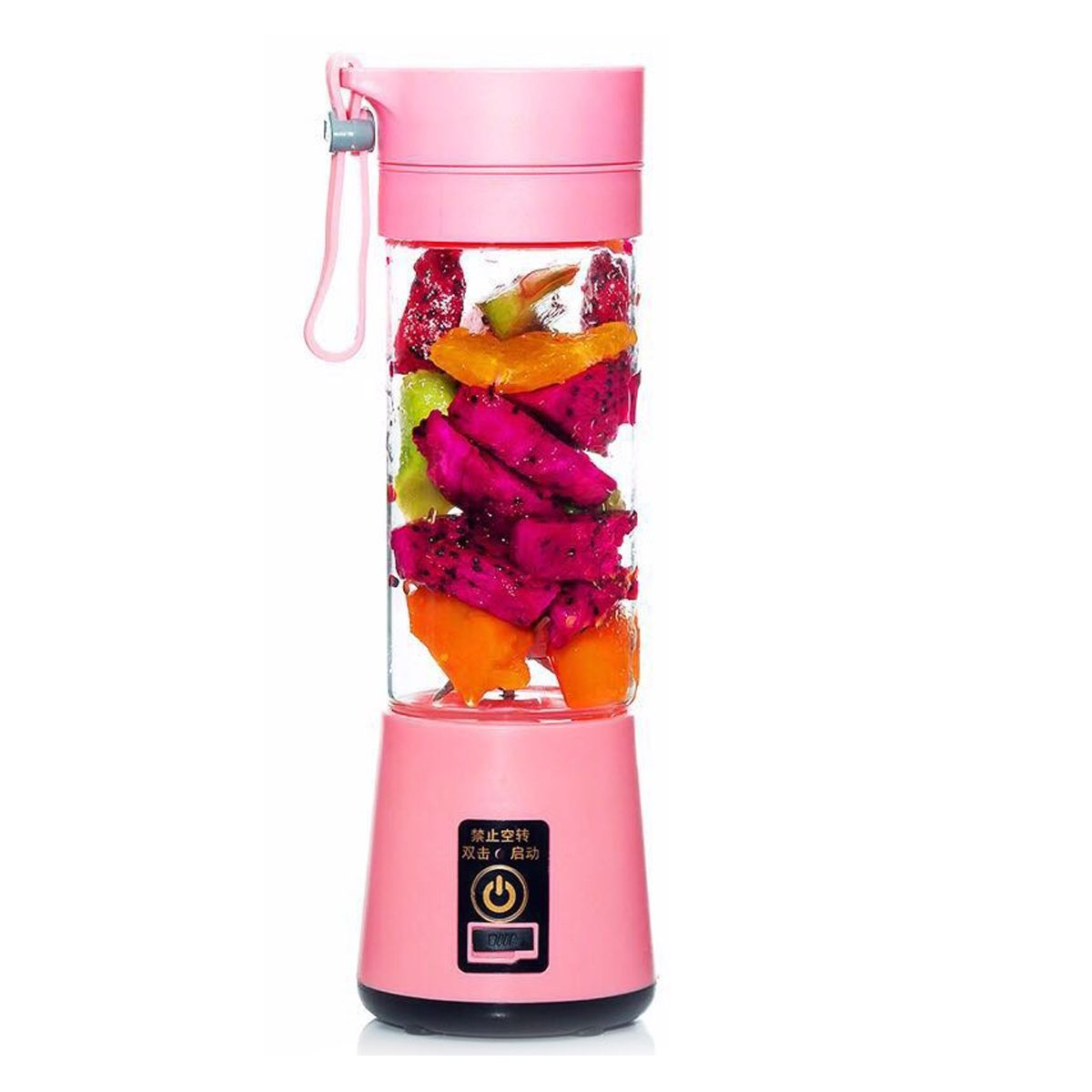 Hot 380ml USB Rechargeable Juicer Bottle Cup Juice Citrus Blender Lemon Vegetables Fruit Milkshake Smoothie Squeezers Reamers