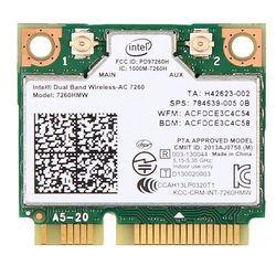 876 M Dual Band 2,4 + 5G Bluetooth V4.0 Wifi Wireless Mini PCI-Express Card Für Intel 7260 AC 7260HMW 7265 IT-7265HMW 8260