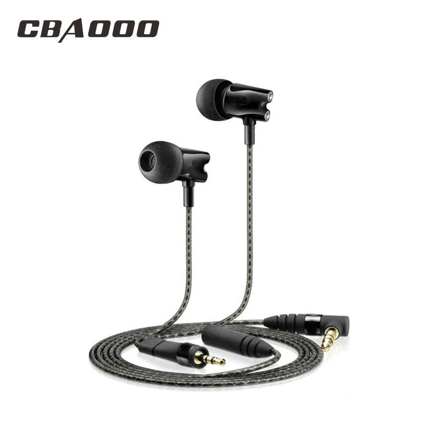 HF800 earphones In Ear Earphone Ceramic HiFi Subwoofer Earbuds IE800 HD Stereo Bass earphone Hot