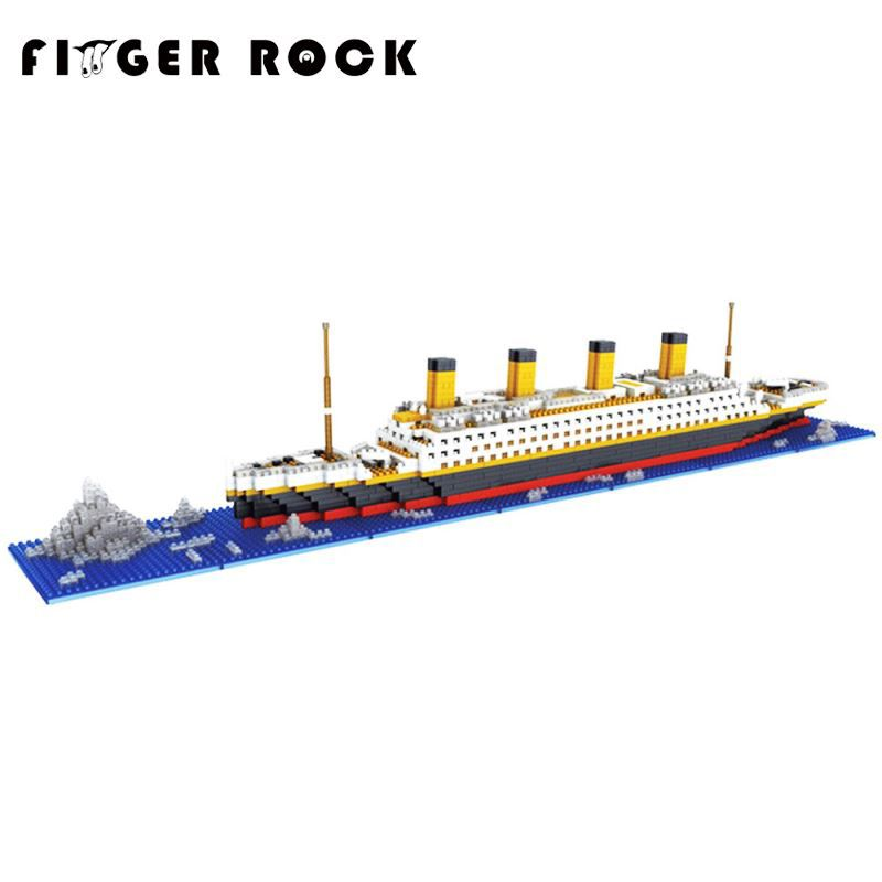 Titanic Blocks Diamond Building Blocks DIY Assemblage Model Mini Bricks Romantic Present Gift for Friend and Family