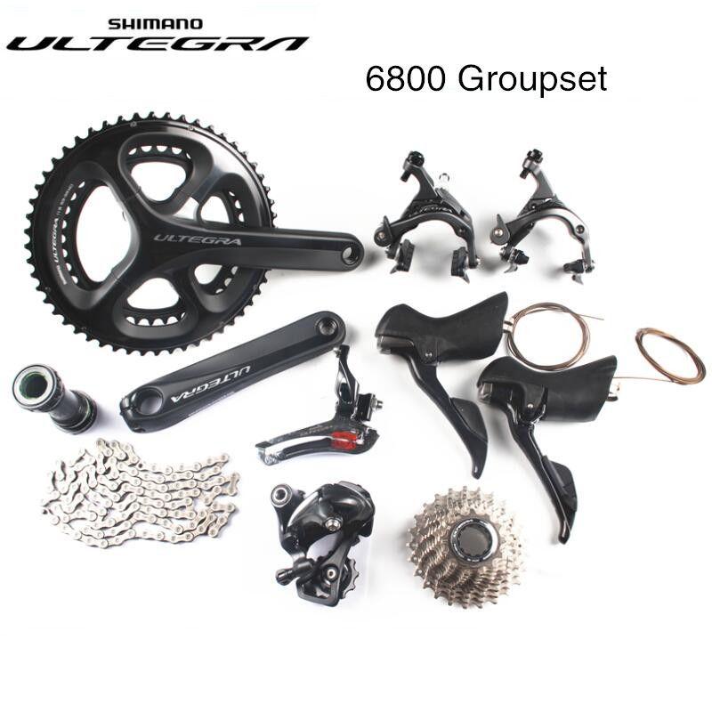 Shimano Ultegra 6800 50-34 T 53-39 T 52-36 T 46-36 T 170/172. 5/175mm 22 Geschwindigkeit rennrad fahrrad Groupset Billiger als R8000 2x11 S