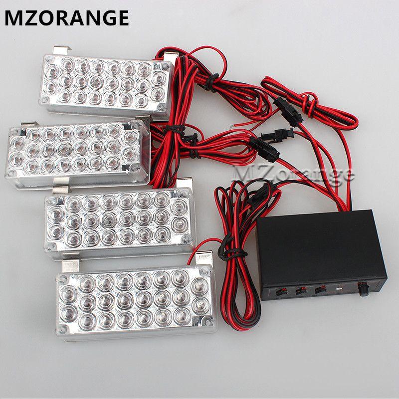 LED stroboscope lumière voiture clignotant 2*22 4*22 6*22 8*22 avertissement d'urgence 12v EMS Police lumières 3 Modes pour chevrolet