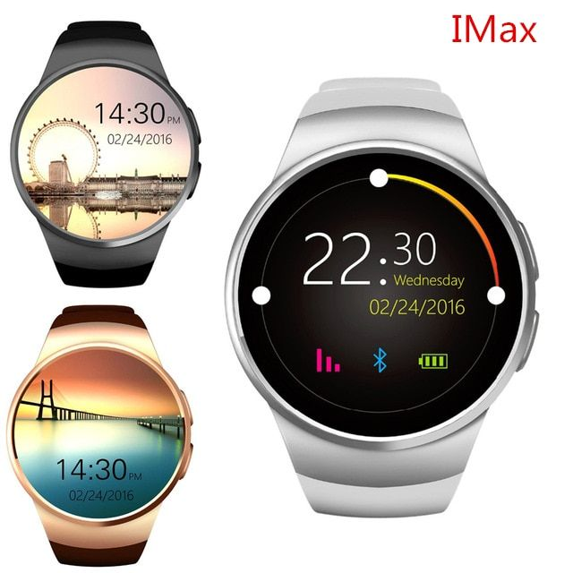 Smartch KW18 Heart Rate Smart Watch Bluetooth Smartwatch SIM Compatible For Apple IOS Android