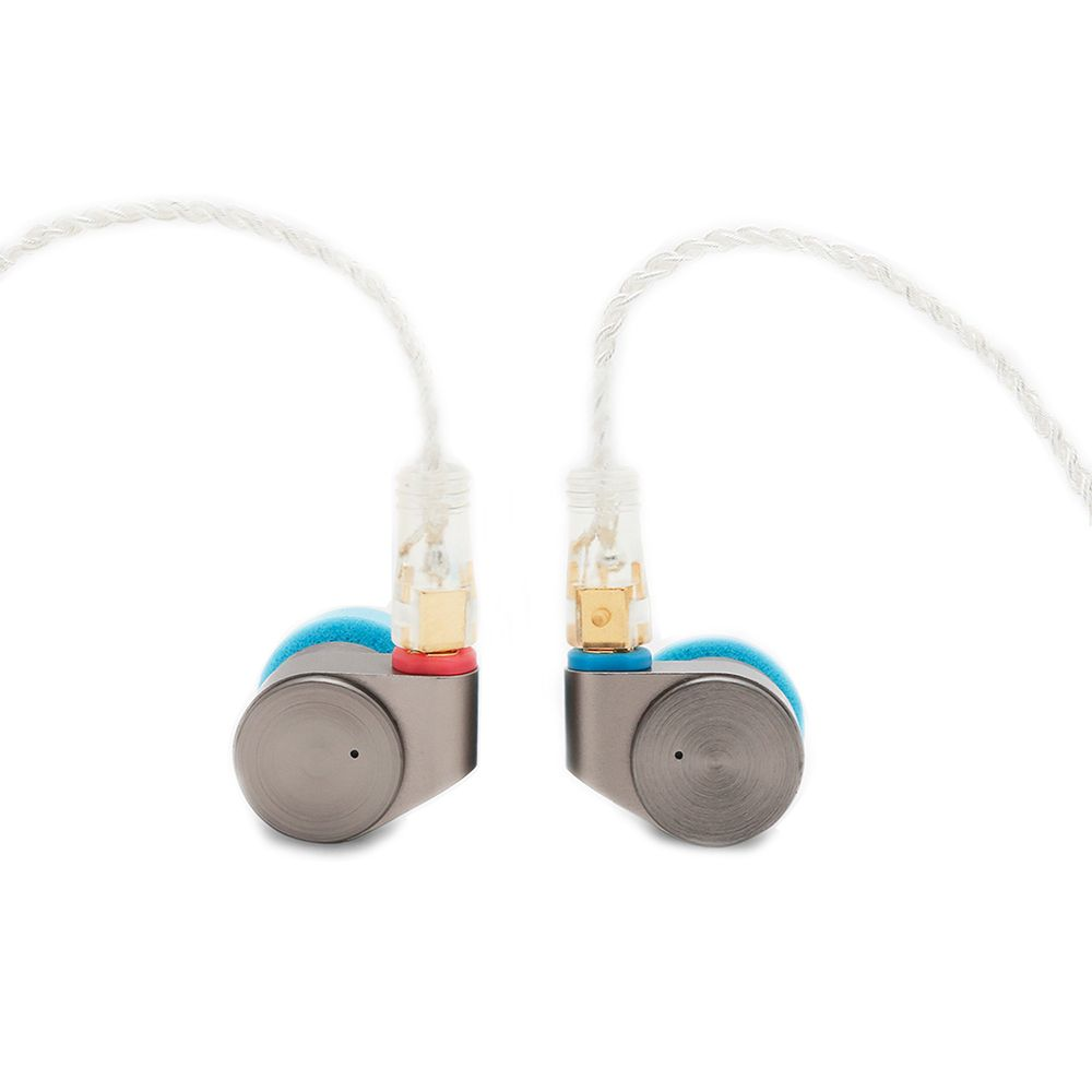 Tin Audio T2 High Resolution Double Dynamic Drivers In-Ear Earphone HiFi Audiophone Metal Earbuds with MMCX Detachable Cable