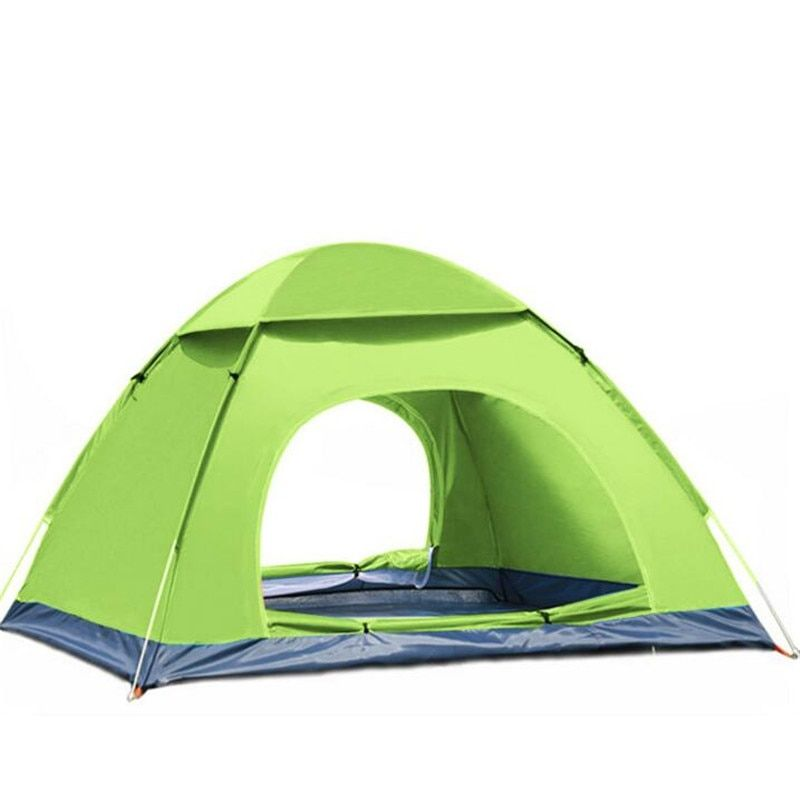 3-4 Person Outdoor Camping Tent for Hiking Trekking Backpacking Fishing Three-Season Tent Fully automatic Tourist Tent S079