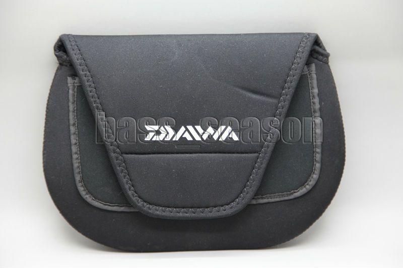 Marke neue daiwa angelrolle rollentasche spinnrolle abdeckungen salzwasser reel aufbewahrungskoffer größe l