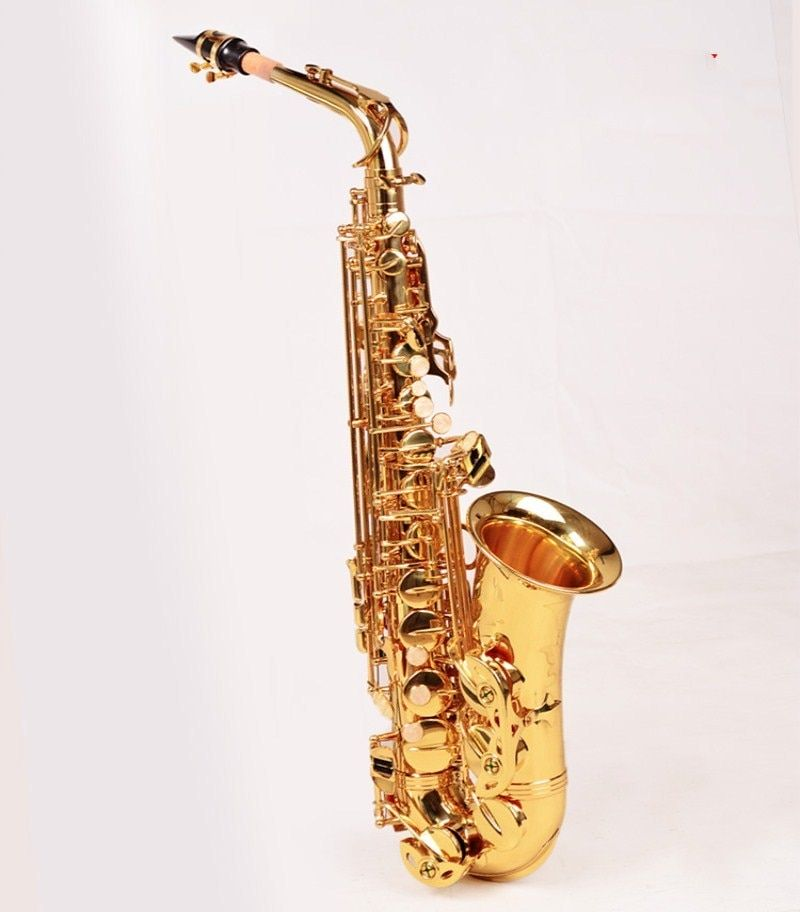 2018 Selling Super Action 80 series ii sax France High Quality Instrument E Flat music professional Alto Saxophone Free shipping