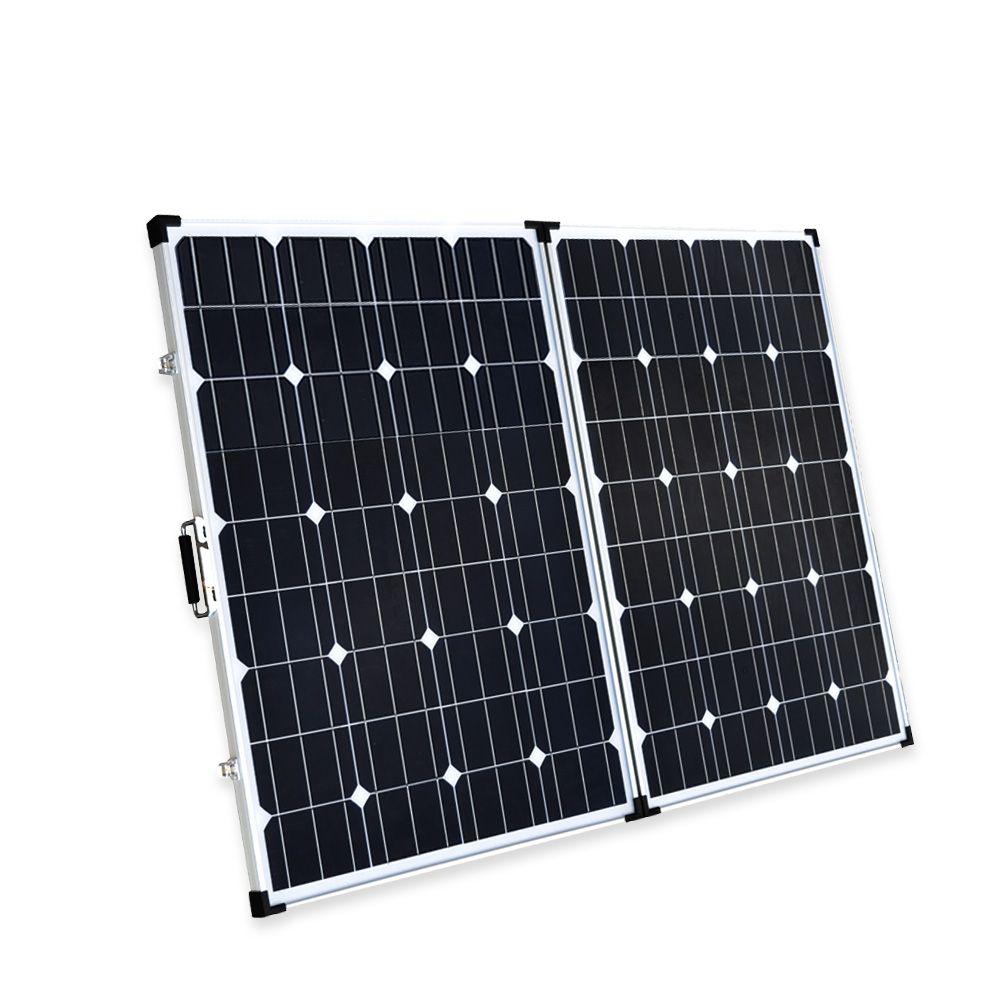 Boguang 200 watt faltbare solar panel 2*100 Watt Tragbare Solar ladegerät Monokristalline zelle modul 10A USB controller 12 v batterie