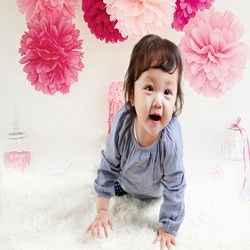 Children Photography Backdrops Cake Red Pink Flower Art Background Photo Candy Glass Bottle Backdrops for Photographic Studio
