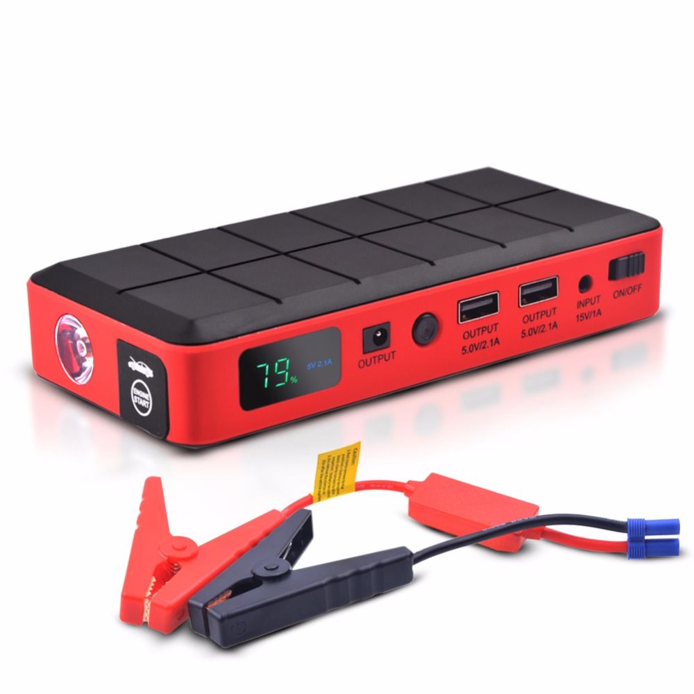 Car emergency Jump Starter Power Mini Portable Emergency power bank Battery Charger for Petrol & Diesel car Auto Booster