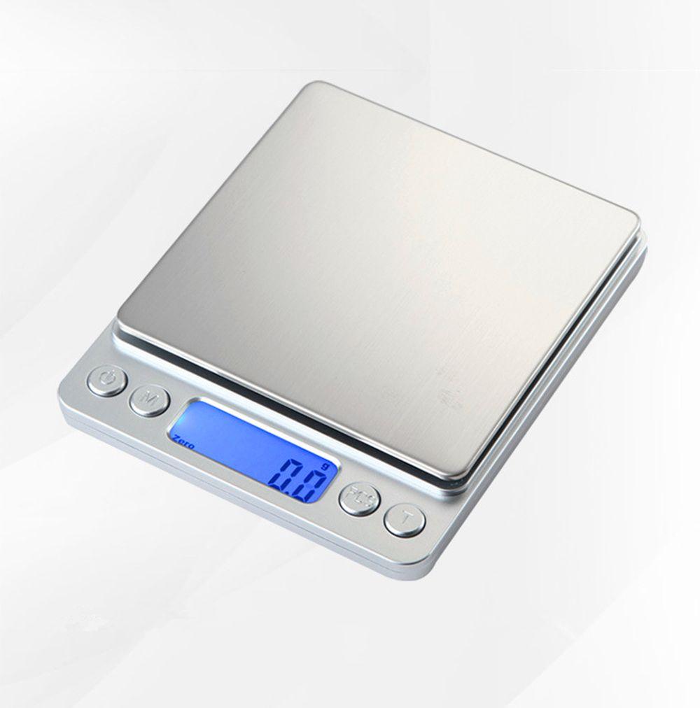 3000g/0.1g 500/0. 01g LCD Portable Mini Électronique Numérique Échelles Poche Cas Postal Cuisine Bijoux Poids Balance Scale Numérique