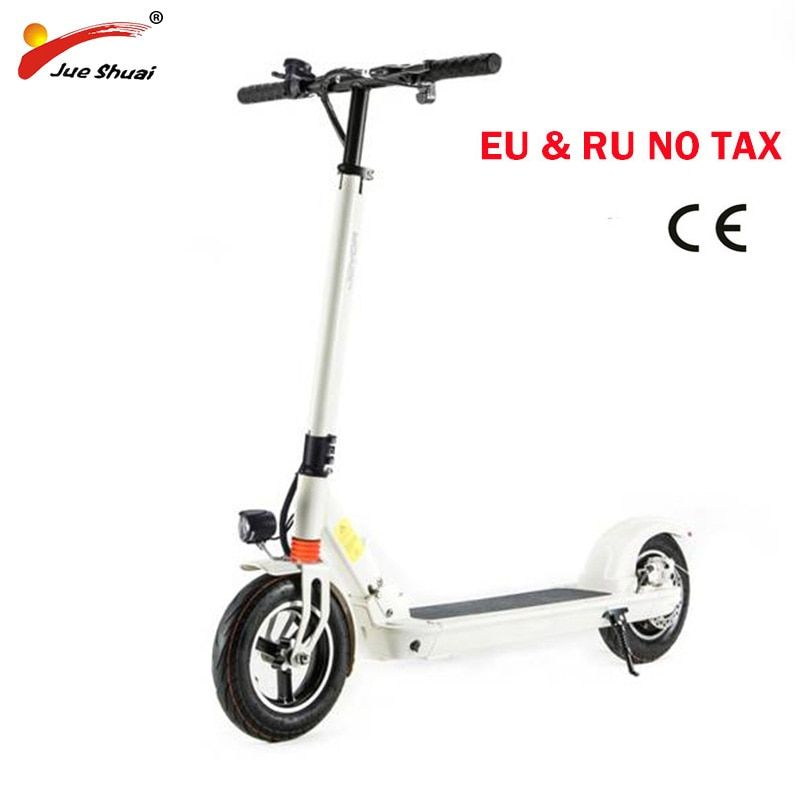 10 inch Electric scooter with seat Adult motor Scooter Foldable Electric skateboard hoverboard Powerful patinete electrico adult