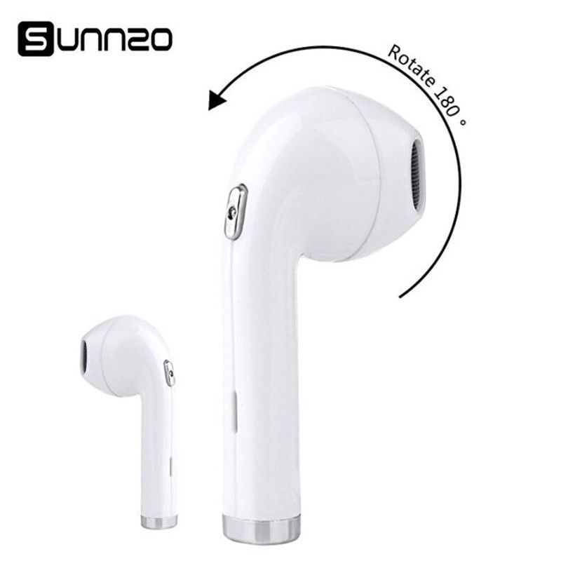 Bluetooth Earphone SUNNZO i8 Mini Wireless Earbuds Sport Business Headset For Huawei Xiaomi Doogee Elephone Alcatle etc. MP3