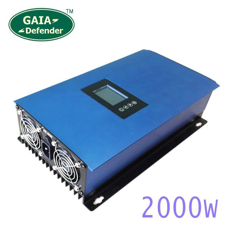 2000W Solar Panels Batterie auf Grid Tie Inverter Limiter für Hause PV System verbunden DC 45-90VDC AC 220V 230V 240V sinus welle