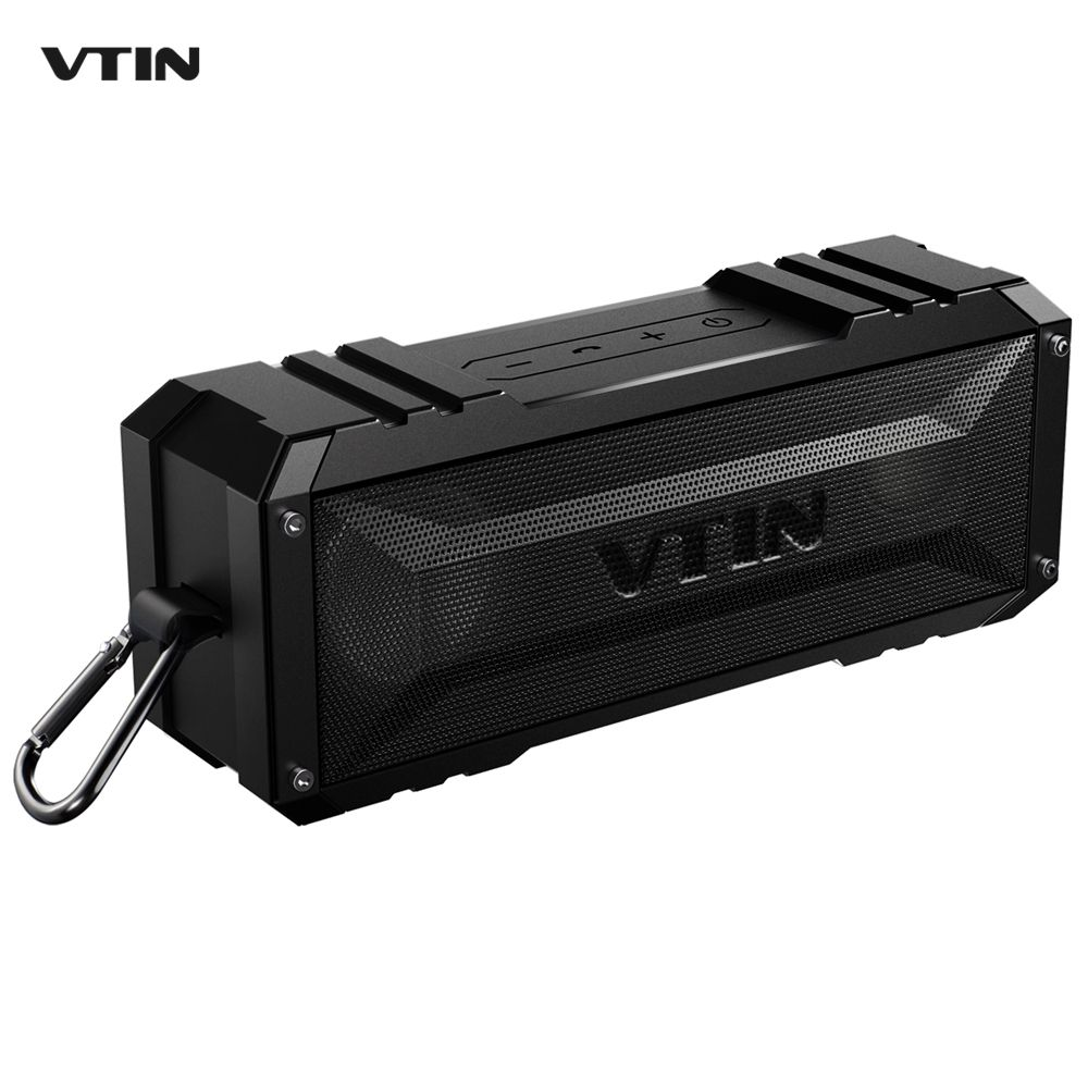 Original VTIN Dark Earl 20W Bluetooth Speaker 4400mAh Waterproof Wireless Outdoor Speaker Sound Box Column Portable Loudspeaker