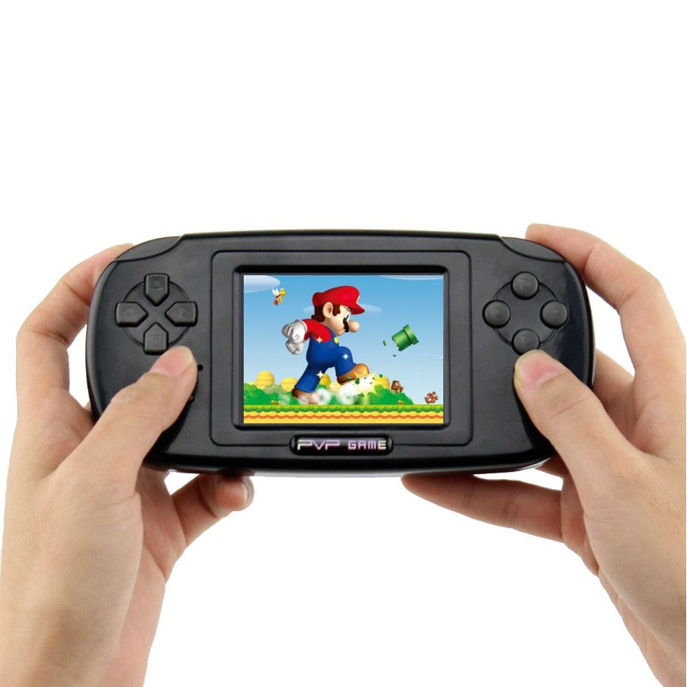 szKosTon 168 in 1 Classic Handheld Game Players 3.0 Inch Portable Game Consoles 8-Bit PVP Portable Game Consoles