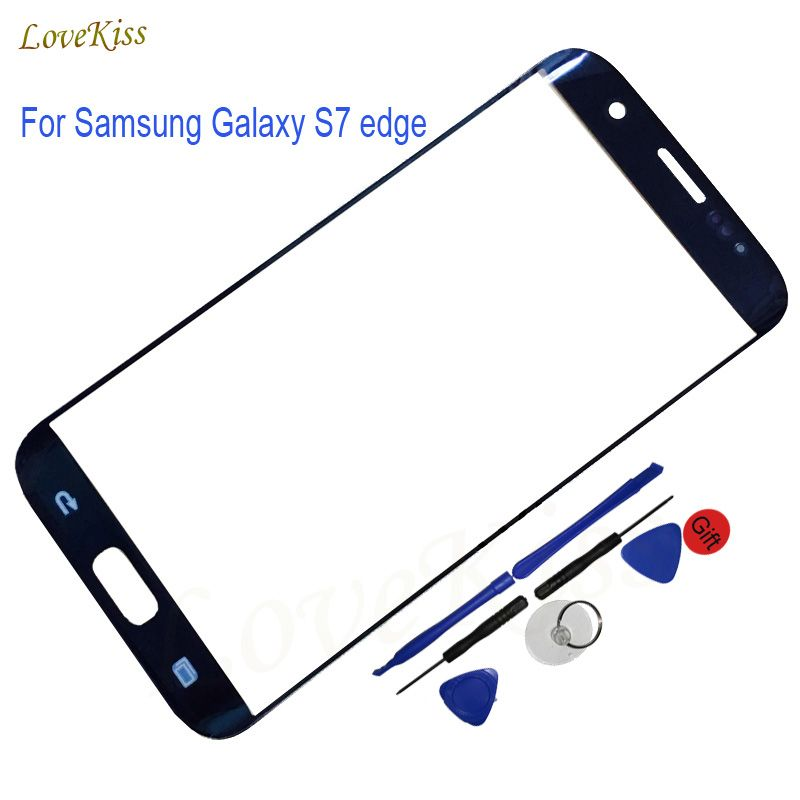 5.5 Touch Screen Panel For Samsung Galaxy S7 Edge G935 G935F G935FD Touchscreen Outer Front Glass Replacement Tools No LCD
