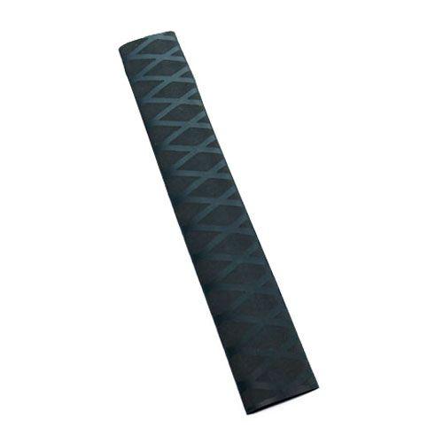 Non Slip Polyolefin X-TUBE Heat Shrink Tube Grip Fish Rod Racket HandleLength:1M Tube Black