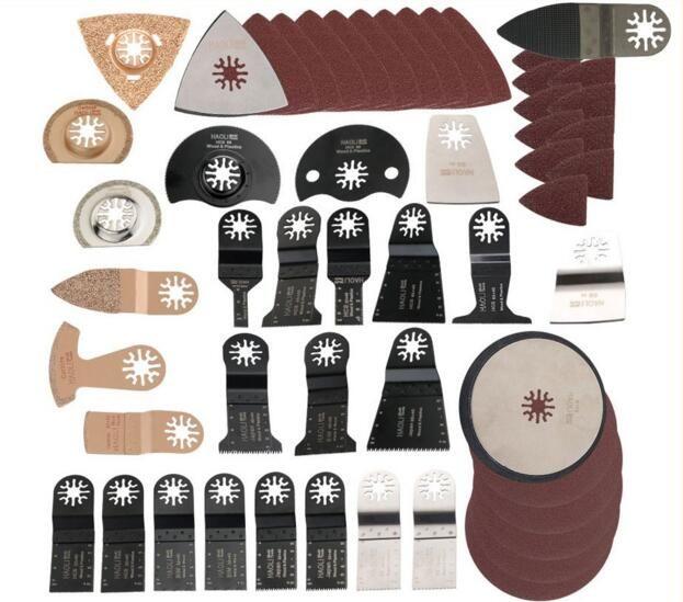 249 pièces accessoires de lame de scie multi-outils oscillant pour outil électrique multimaster comme outil de rénovation Fein, Dremel, TCH, coupe de métal