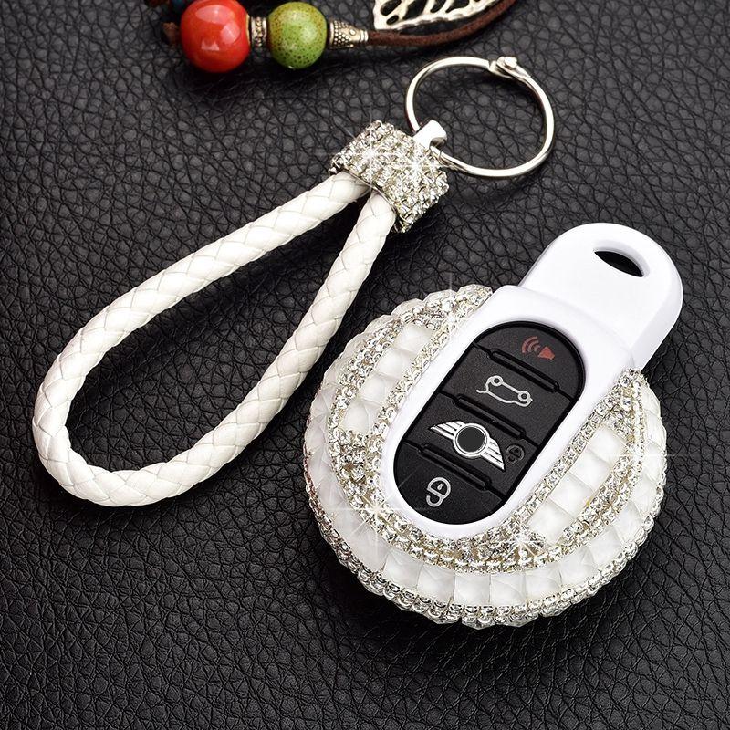 Geschenk Hohe Qualität Luxus Diamant Schlüssel Abdeckung Shell Für BMW MINI Cooper F56 F55 F54 F60 R55 R56 R59 R60 r61 ONE S Clubman Schlüssel Fall