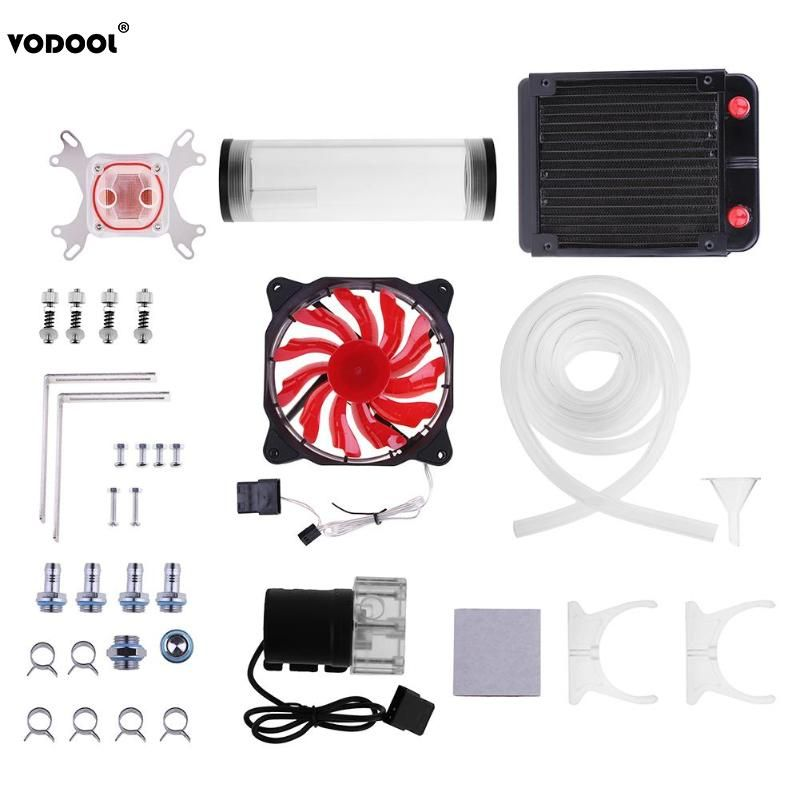 VODOOL PC Water Cooling System Set G1/4