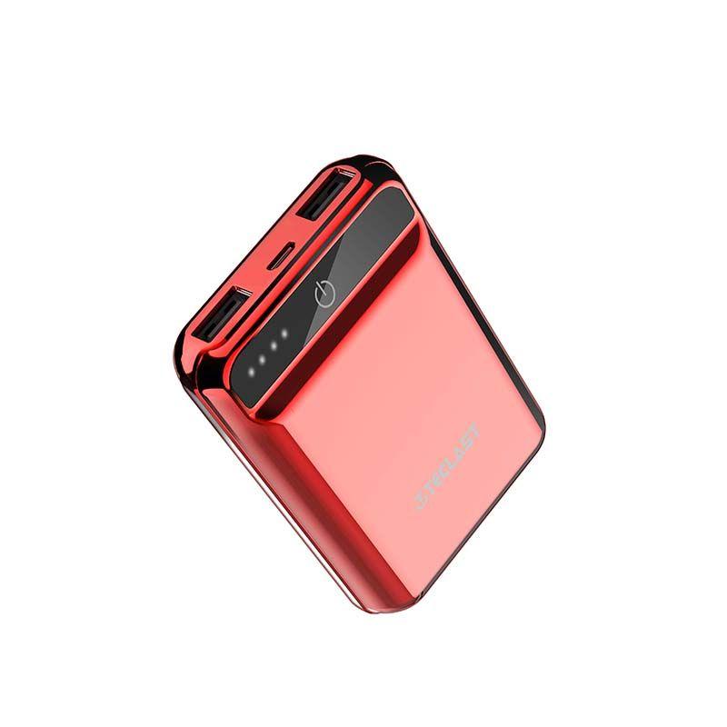Original Teclast A10 Mini Schillernden Bunten Energienbank 10000 mAh ultradünne Batterie Bank Mit Dual USB 2.1A Schnelle lade Output