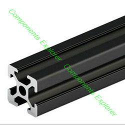 2020 Profil En Aluminium, Livraison de coupe dans n'importe quelle Longueur, Noir Couleur.